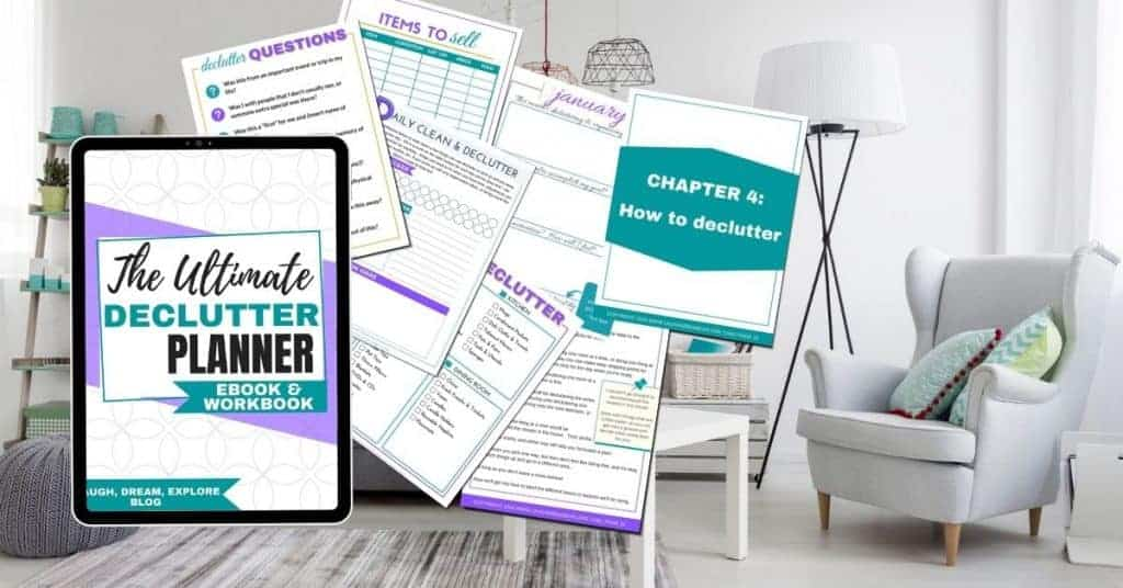 Declutter Planner Ebook & Workbook