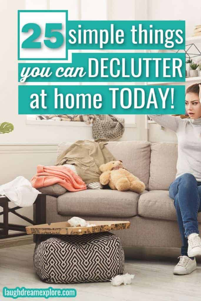 Things to declutter