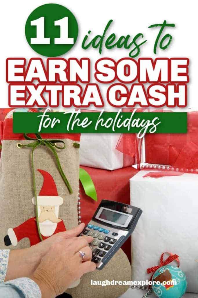 how to earn extra money for Christmas